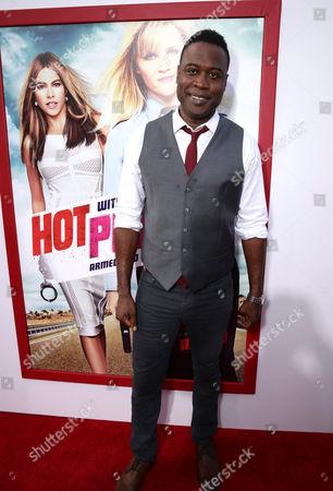 "Kevin Daniels seen at Warner Bros. Premiere of ""Hot Pursuit"", in Los Angeles"