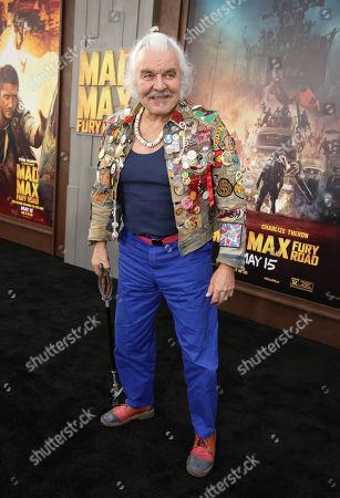 """Hugh Keays-Byrne seen at the Warner Bros. premiere of """"Mad Max: Fury Road"""", in Los Angeles"""