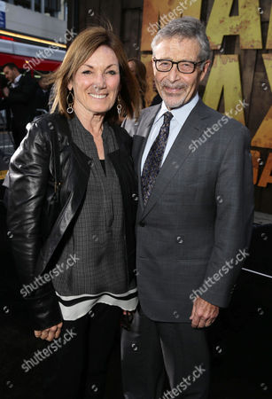 """Wendy Meyer and Barry Meyer seen at the Warner Bros. premiere of """"Mad Max: Fury Road"""", in Los Angeles"""