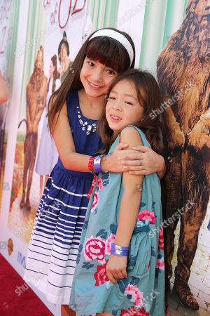 Chloe Noelle and Aubrey Anderson-Emmons seen at Warner Bros. world premiere screening of The Wizard of Oz in IMAX 3D and the grand opening of the newly converted TCL Chinese Theatre IMAX in Hollywood, the very site of the film's 1939 Hollywood premiere. The new TCL Chinese Theatre IMAX is now the largest IMAX auditorium in the world and the first IMAX theatre in Hollywood. Held on Sunday, Sep, 15, 2013 in Los Angeles