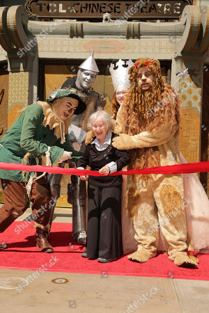Editorial picture of Warner Bros. World Premiere Screening of The Wizard of Oz in IMAX 3D and the grand opening of TCL Chinese Theatre IMAX, Los Angeles, USA - 15 Sep 2013