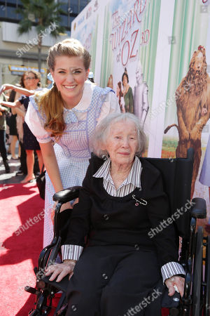 Danielle Wade and Ruth Duccini seen at Warner Bros. world premiere screening of The Wizard of Oz in IMAX 3D and the grand opening of the newly converted TCL Chinese Theatre IMAX in Hollywood, the very site of the filmâ?™s 1939 Hollywood premiere. The new TCL Chinese Theatre IMAX is now the largest IMAX auditorium in the world and the first IMAX theatre in Hollywood. Held on Sunday, Sep, 15, 2013 in Los Angeles