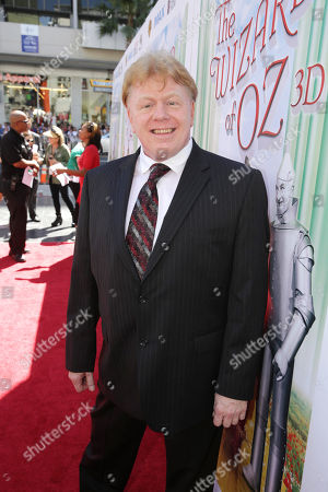 Stock Photo of John Fricke, The Wizard of Oz historian, author and MC of the presentation seen at Warner Bros. world premiere screening of The Wizard of Oz in IMAX 3D and the grand opening of the newly converted TCL Chinese Theatre IMAX in Hollywood, the very site of the film's 1939 Hollywood premiere. The new TCL Chinese Theatre IMAX is now the largest IMAX auditorium in the world and the first IMAX theatre in Hollywood. Held on Sunday, Sep, 15, 2013 in Los Angeles