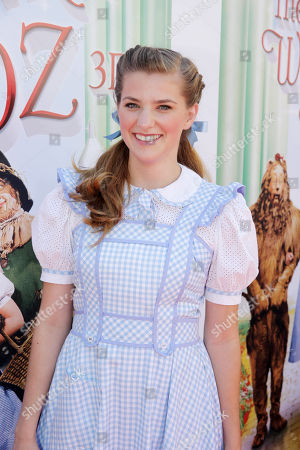 Stock Picture of Danielle Wade seen at Warner Bros. world premiere screening of The Wizard of Oz in IMAX 3D and the grand opening of the newly converted TCL Chinese Theatre IMAX in Hollywood, the very site of the film's 1939 Hollywood premiere. The new TCL Chinese Theatre IMAX is now the largest IMAX auditorium in the world and the first IMAX theatre in Hollywood. Held on Sunday, Sep, 15, 2013 in Los Angeles