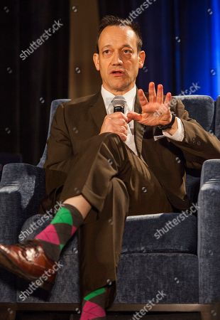 Ted Raimi during the Evil Dead I & II Reunion Q&A panel at the Wizard World Chicago Comic-Con, in Chicago