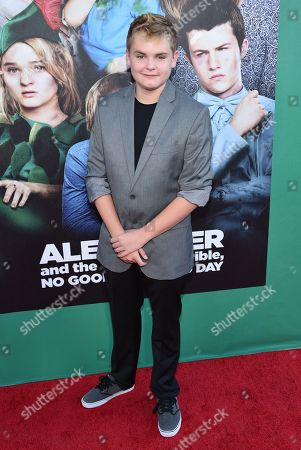 """Editorial image of World Premiere Of """"Alexander And The Terrible, Horrible, No Good, Very Bad Day"""" - Red Carpet, Los Angeles, USA - 6 Oct 2014"""