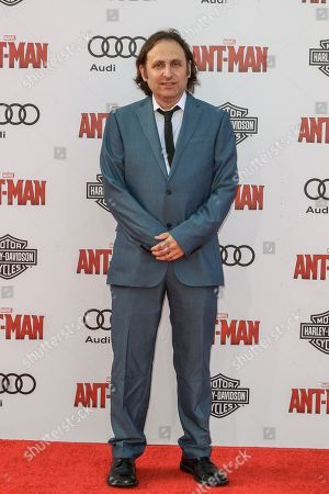 Gregg Turkington attends the world premiere of Marvel's 'Ant-Man' at the Dolby Theatre on in Los Angeles