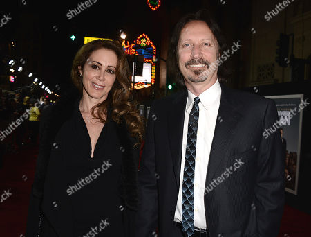"""Writer Scott Mednick and guest arrive on the red carpet at the world premiere of """"Delivery Man"""" at The El Capitan Theatre on in Los Angeles"""