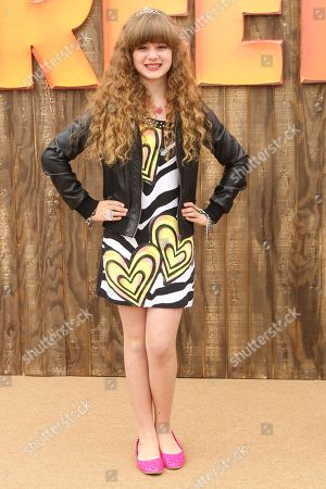 "Actress Piper Reese arrives at the world premiere of ""Free Birds"" at the Westwood Village Theatre on in Los Angeles"