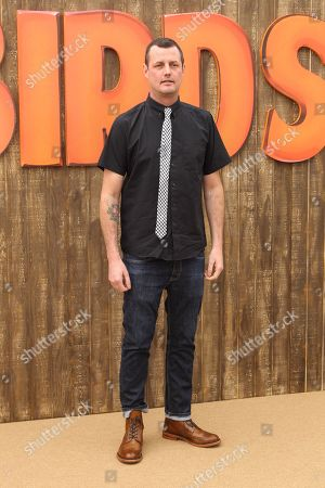 """Director Jimmy Hayward arrives at the world premiere of """"Free Birds"""" at the Westwood Village Theatre on in Los Angeles"""