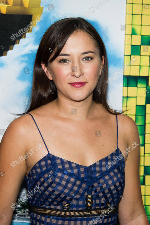 """Stock Image of Zelda Rae Williams attends the world premiere of """"Pixels"""" at Regal E-Walk, in New York"""