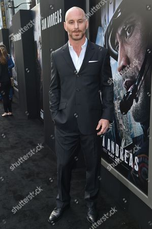 """Matt Gerald arrives at the World Premiere Of """"San Andreas"""" held at the TCL Chinese Theater, in Los Angeles"""
