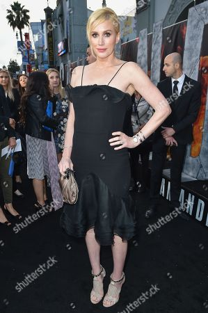 """Alice Evans arrives at the World Premiere Of """"San Andreas"""" held at the TCL Chinese Theater, in Los Angeles"""