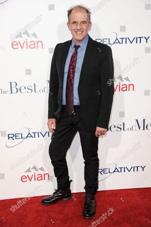"""Michael Hoffman arrives at the World Premiere of """"The Best Of Me"""", in Los Angeles"""