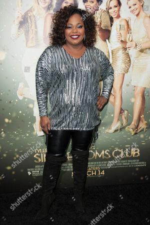 """Cocoa Brown arrives at the world premiere of """"The Single Moms Club"""", in Los Angeles"""