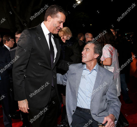 """Producer Scott Stuber and Universal Pictures Vice Chairman and COO Rick Finkelstein attend the world premiere of """"Identity Thief"""" at the Mann Village Westwood on in Los Angeles"""