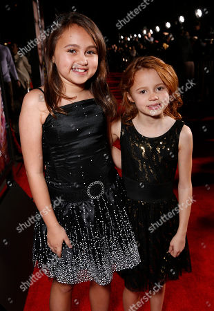 """Mary-Charles Jones and Maggie Elizabeth Jones attend the world premiere of """"Identity Thief"""" at the Mann Village Westwood on in Los Angeles"""
