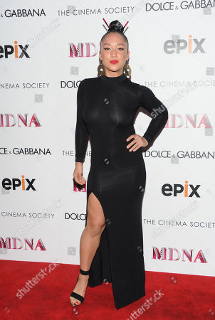 """Personal trainer Nicole Winhoffer attends the world premiere of """"Madonna: The MDNA Tour"""" hosted by The Cinema Society and Dolce & Gabbana at the Paris Theatre on in New York"""