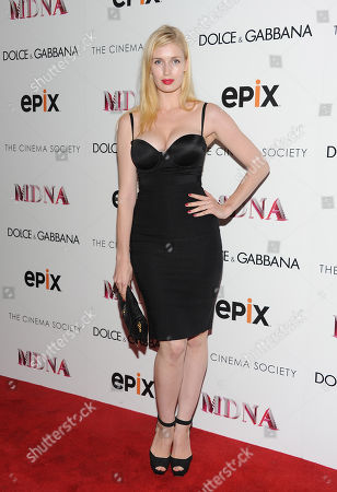 """Camilla Hansen attends the world premiere of """"Madonna: The MDNA Tour"""" hosted by The Cinema Society and Dolce & Gabbana at the Paris Theatre on in New York"""