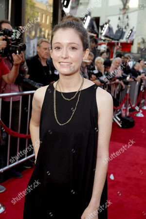 """Stock Picture of Hayley McFarland seen at World Premiere of New Line Cinema's """"The Conjuring 2"""" at 2016 LA Film Festival, in Los Angeles"""