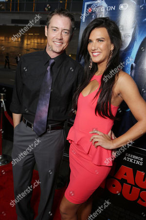 Jason London and Natalie Burn seen at the Los Angeles World Premiere of Open Road Films 'A Haunted House 2,' on in Los Angeles