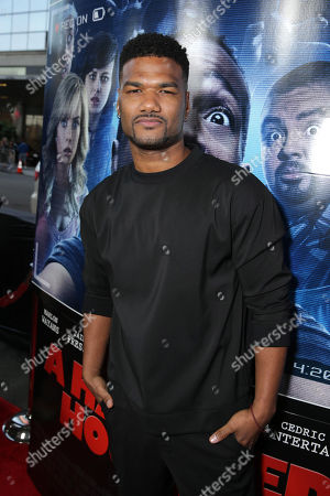 Damien Dante Wayans seen at the Los Angeles World Premiere of Open Road Films 'A Haunted House 2,' on in Los Angeles