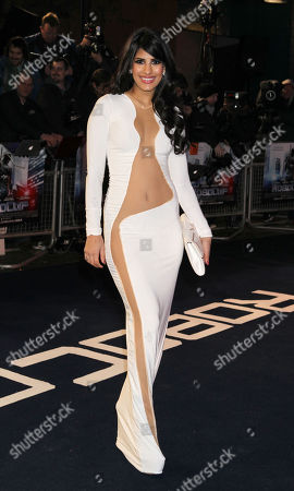 Jasmine Walia at the World Premiere of RoboCop, held at the BFI Southbank, London, on