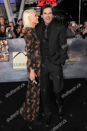 """Pollyanna Rose, left, and Billy Burke attend the world premiere of """"The Twilight Saga: Breaking Dawn Part II"""" at the Nokia Theatre, in Los Angeles"""