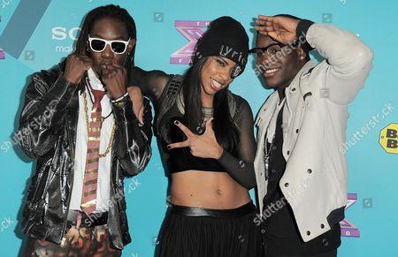 Editorial image of X-Factor Finalists Party, Los Angeles, USA - 5 Nov 2012
