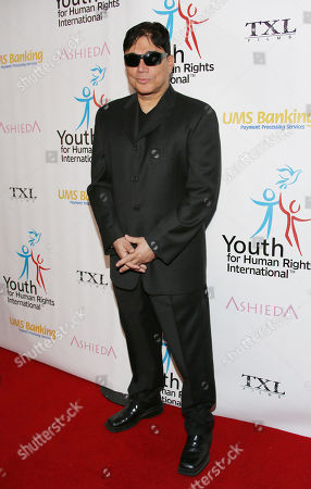 Michael DeLorenzo arrives at Youth for Human Rights International Celebrity Benefit at Beso Hollywood on in Los Angeles