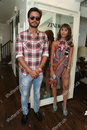 Host's Scott Disick and Rachel Heller at Zindigo Takes Malibu on in Malibu, CA