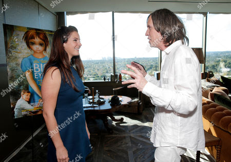 """Lana Del Rey and Glen Ballard attend a """"Big Eyes"""" Screening and Reception Honoring Lana Del Rey and Daniel Heath at a private venue on in Los Angeles"""