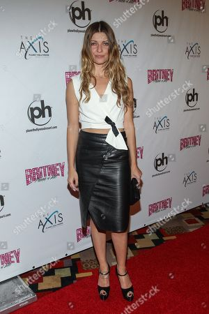 """Ivana Milicevic arrives at the """"Britney Spears: Piece of Me"""" Planet Hollywood Launch Party"""", on in Las Vegas, NV"""