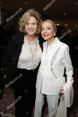 Brenda Vaccaro and Anne Jeffreys seen at 'The Theory of Everything' Reception hosted by Eddie Redmayne and James Marsh, in Los Angeles, CA