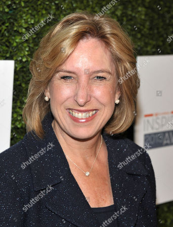Wendy Greuel arrives at the 10th Annual Inspiration Awards at the Beverly Hilton Hotel on in Los Angeles