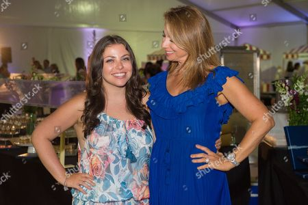 "Reality TV star Jill Zarin, right, and Ally Shapiro attend the 12th Annual ""A Hamptons Happening"", celebrating the 40th Anniversary of the Samuel Waxman Cancer Research Foundation, at a private Bridgehamton residence, in New York"