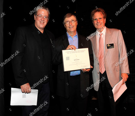 Stock Photo of NORTH HOLLYWOOD, CA - SEPTEMBER 8: (L-R) Television Academy Governor Mark Watters, Emmy nominee Ron Jones, and Dan Foliart, President, the Society of Composers and Lyricists pose at the 2011 Academy of Television Arts and Sciences Music Nominee Reception held at the Academy of Television Arts & Sciences in North Hollywood, California, Thursday September, 8 2011
