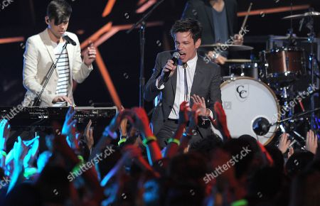 Stock Picture of Nate Reuss perfroms onstage during the 2012 Do Something awards on in Santa Monica, Calif