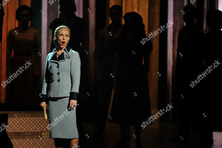 Elena Roger performs at the 66th Annual Tony Awards, in New York