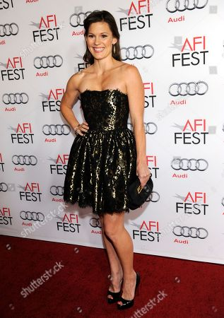 """Stock Image of Bonnie Bentley arrives at the AFI FEST premiere of """"Lone Survivor"""" at the TCL Chinese Theatre, in Los Angeles"""