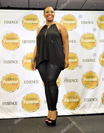 Avery Sunshine poses backstage at the Essence Festival at the Superdome, in New Orleans