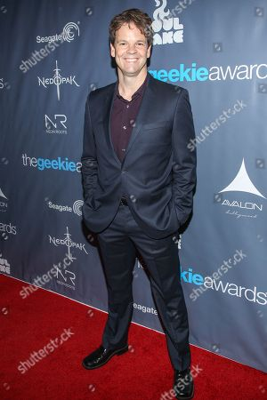 Actor Kevin Shinick arrives at the 2013 Geekie Awards at the Avalon on in Los Angeles