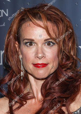 Stock Image of Actress Chase Masterson arrives at the 2013 Geekie Awards at the Avalon on in Los Angeles