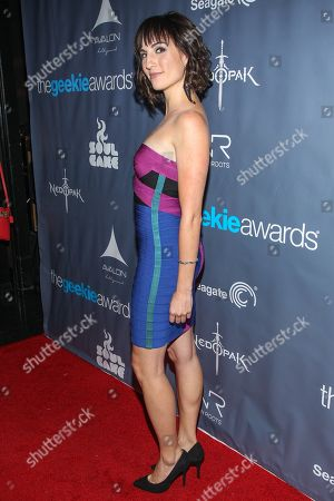 Actress Alison Haislip arrives at the 2013 Geekie Awards at the Avalon on in Los Angeles