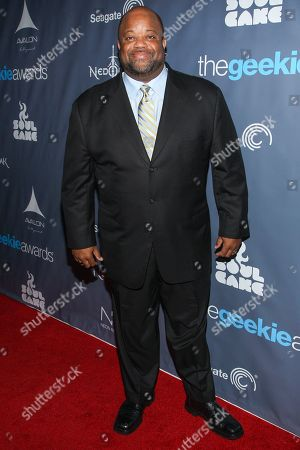 Actor Mark Christopher Lawrence arrives at the 2013 Geekie Awards at the Avalon on in Los Angeles