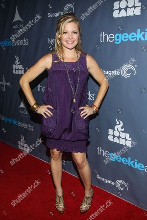Actress Clare Kramer arrives at the 2013 Geekie Awards at the Avalon on in Los Angeles