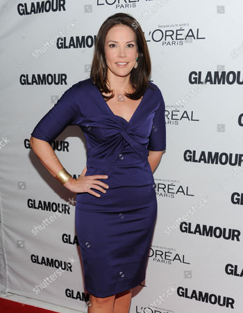 Erica Hill attends the 23rd Annual Glamour Women of the Year Awards hosted by Glamour Magazine at Carnegie Hall on in New York