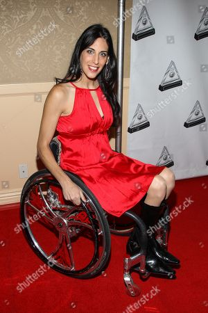 Actress Mia Schaikewitz arrives at the 2013 Media Access Awards at the Beverly Hilton Hotel on in Beverly Hills, Calif
