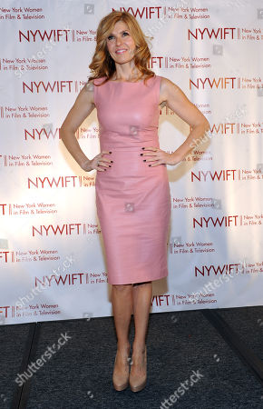 Connie Britton is honored at the 2013 Muse Awards presented by New York Women in Film & Television, in New York, which also honored actors Ellen Barkin, Robin Wright, Sonia Manzano and Frances Berwick, President of Bravo and Oxygen Media