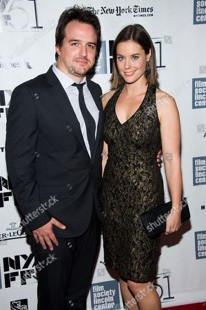 """Neal Dodson and Ashley Williams attend the New York Film Festival screening of """"All Is Lost"""" on in New York"""